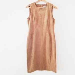 Calvin Klein dress with exposed gold back …